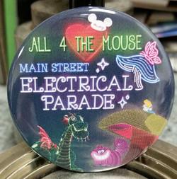 Main Street Electrical Parade Button