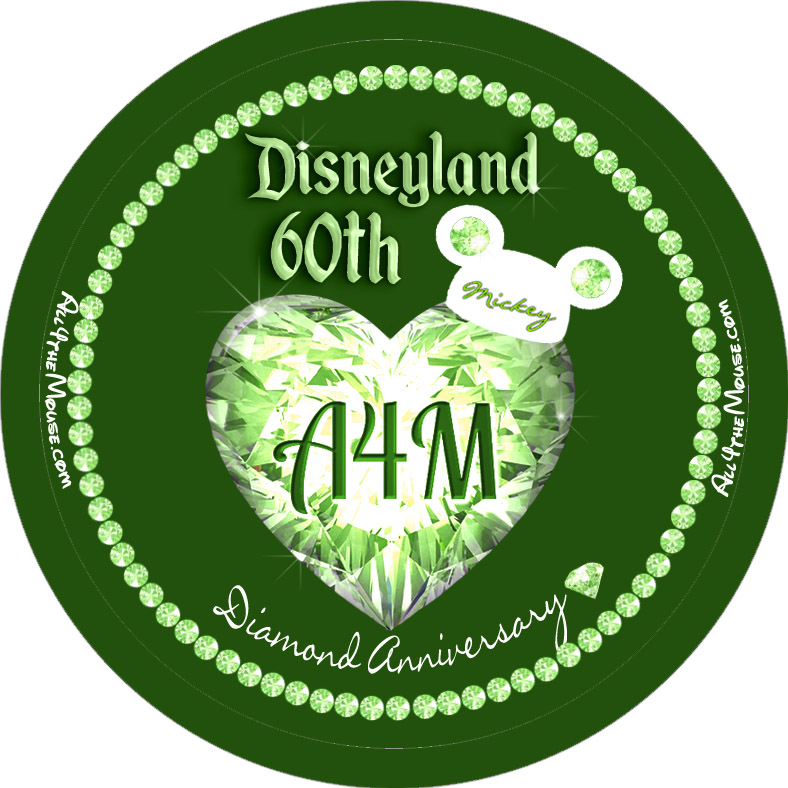 Disneyland 60th Green Diamond