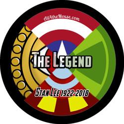 Stan Lee The Legend Button