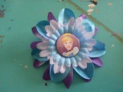 Cinderella Flowerclip