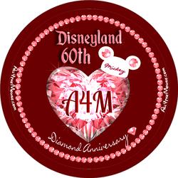 Disneyland 60th Red Diamond