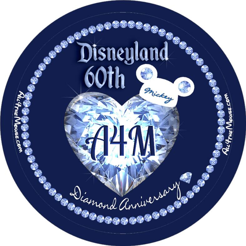 A4M Disneyland 60th Button