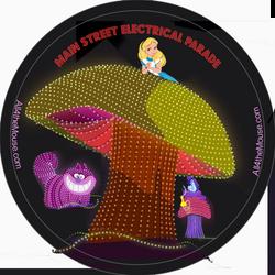 Alice in Wonderland Electrical Parad