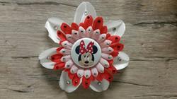 Minnie Mouse Flower Clip
