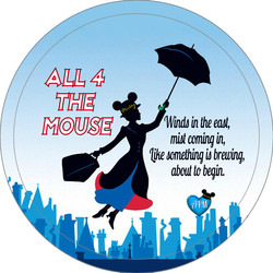 Mary Poppins Button