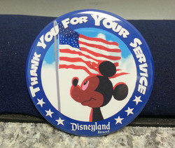 Disney Service Button