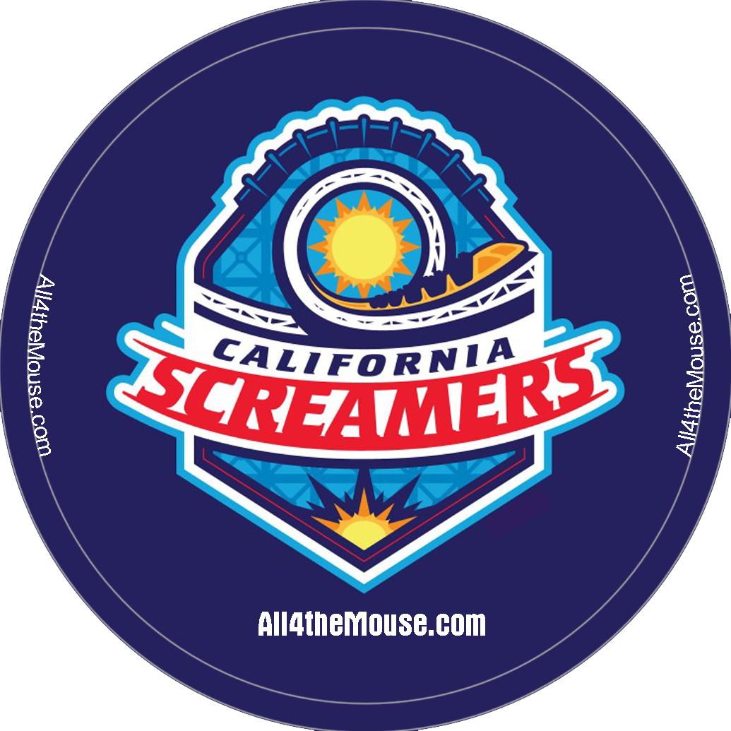 California Screamers Button