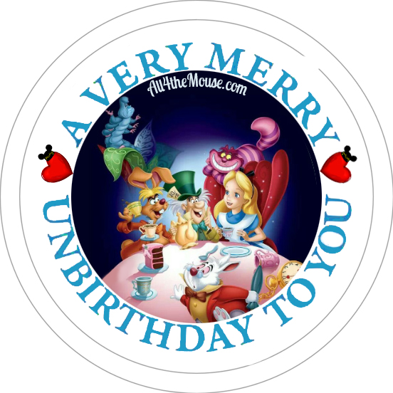 Alice#1 Unbirthday Button