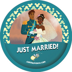 Princess & the Frog Just Married