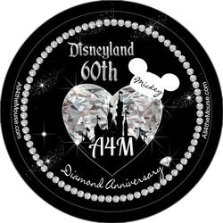 A4M Disneyland 60th Black Diamond