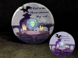 Madame Leota Spirits Button