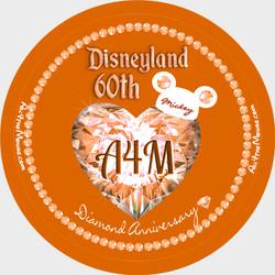 A4M Pumpkin Spice 60th Button
