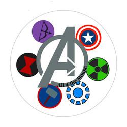 Avengers A Button
