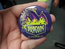 Fantasmic Dragons Sparkle Button