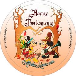 2017 Minnie & Mickey Thanksgiving