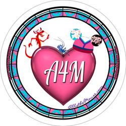 A4M Mulan Heart Button