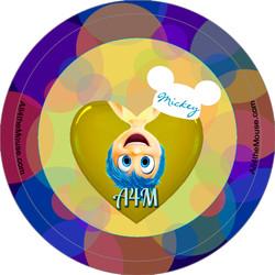 A4M Inside Out Joy Button