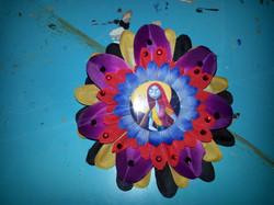 Sally Flowerclip w Crystals