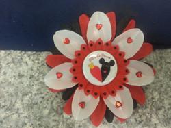 Queen of Hearts Flowerclip