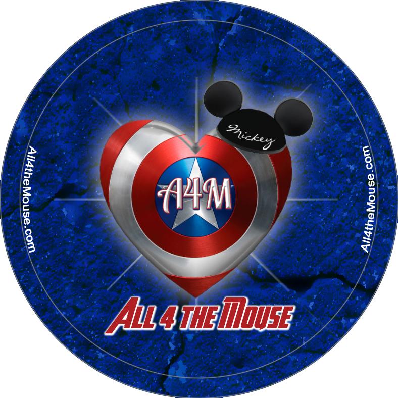 A4M Captain America Heart