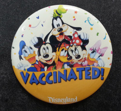 Vaccinated Button!
