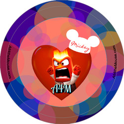 A4M Inside Out Anger Button