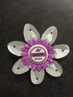 Grape Soda Flowerclip (Up)