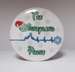 Disneyland Pulse Holiday Button