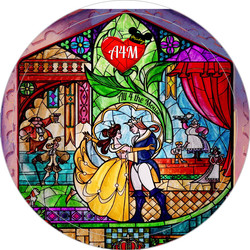 A4M Beauty and the Beast Button