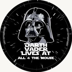 Darth Vader Lives Button