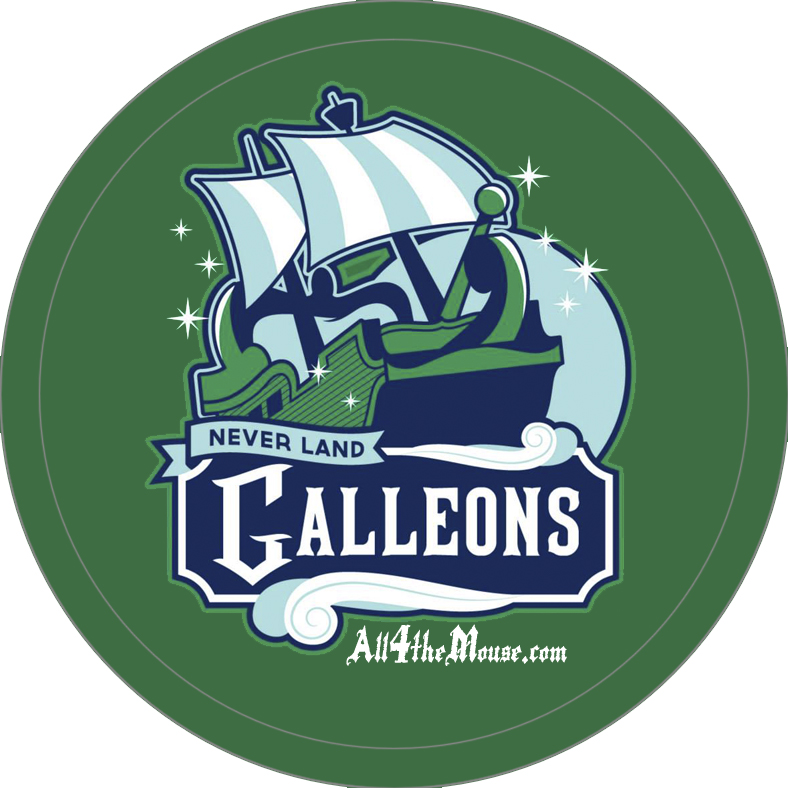 Never Land Galleons Button
