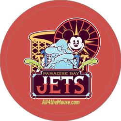 2014 Paradise Bay Jets Button