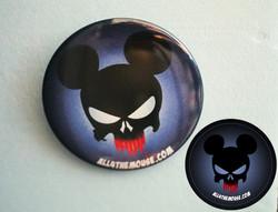 Punisher Mickey Button