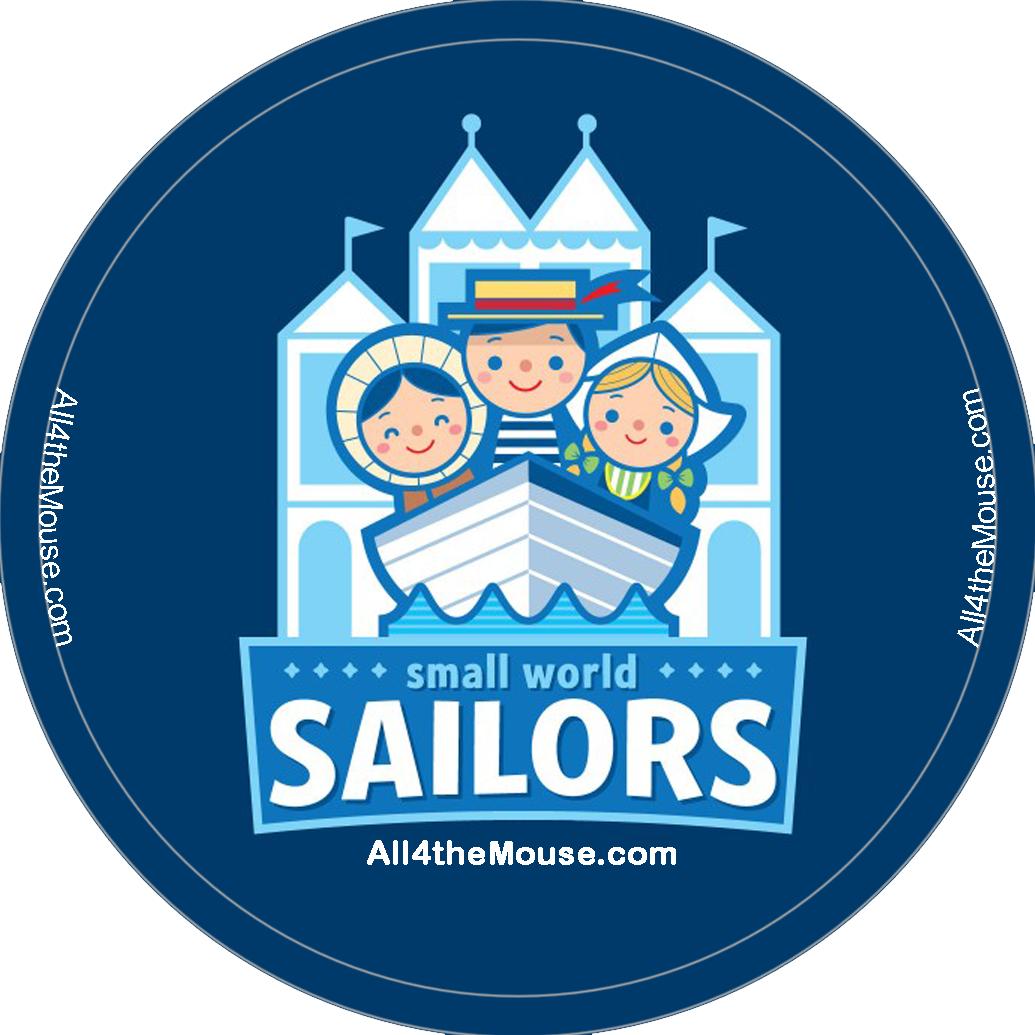 Small World Sailors Button