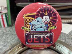 Jets Sparkle Button