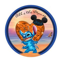 2016 Stitch Heart Button