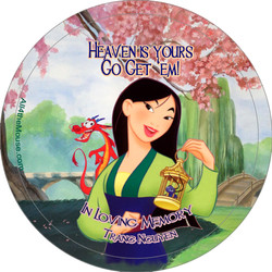 Heaven is Yours Button