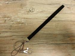 Black Wristlet Strap