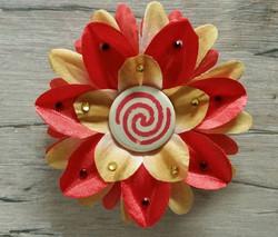 Moana Symbol Flower Clip
