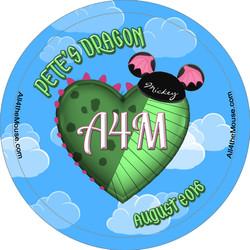 Pete's Dragon Button