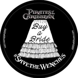 Buy a Bride Button