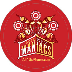 Midway Maniacs Button