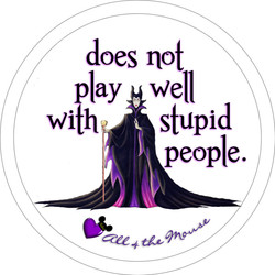 Maleficent Does Not Play Well