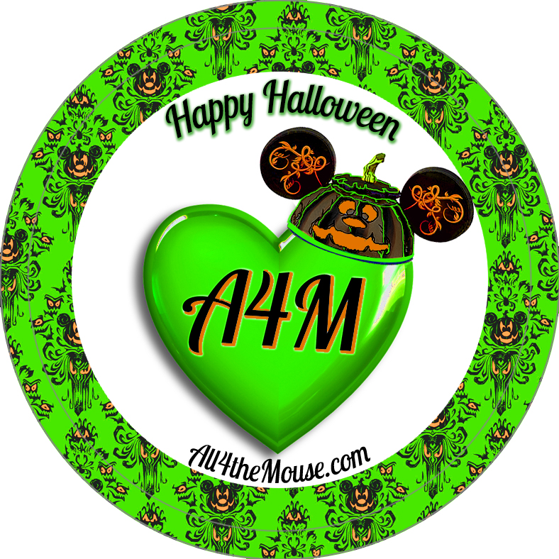 A4M Green Halloween 2015 Button