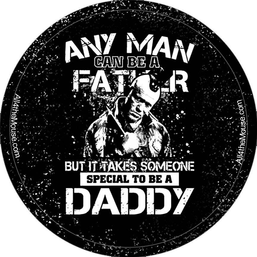 Yondu Father's Day Button