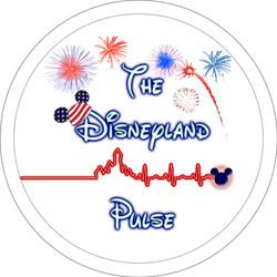 Disneyland Pulse Patriotic Button