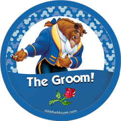 Beast as the Groom Button