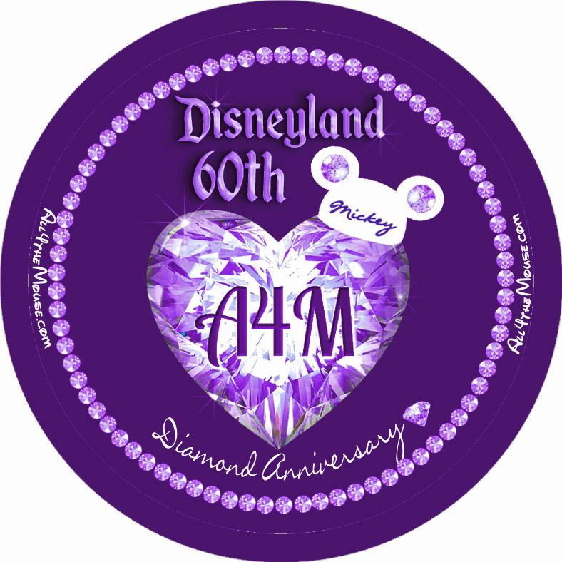 Disneyland 60th Purple Diamond
