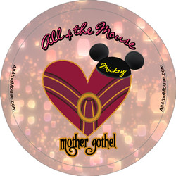 Mother Gothel Button