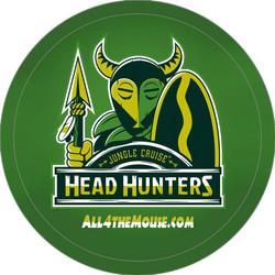 Jungle Cruise Head Hunters Button